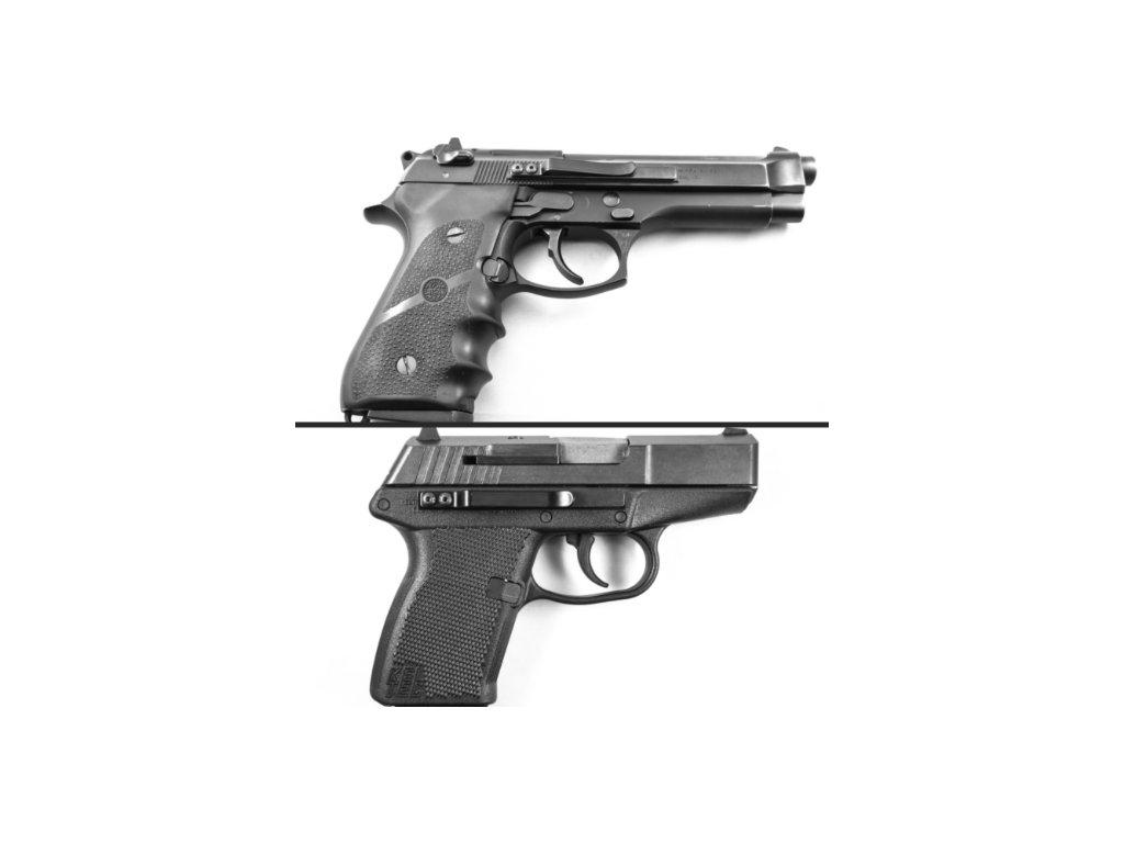 Universal Clipdraw for Pistols Black