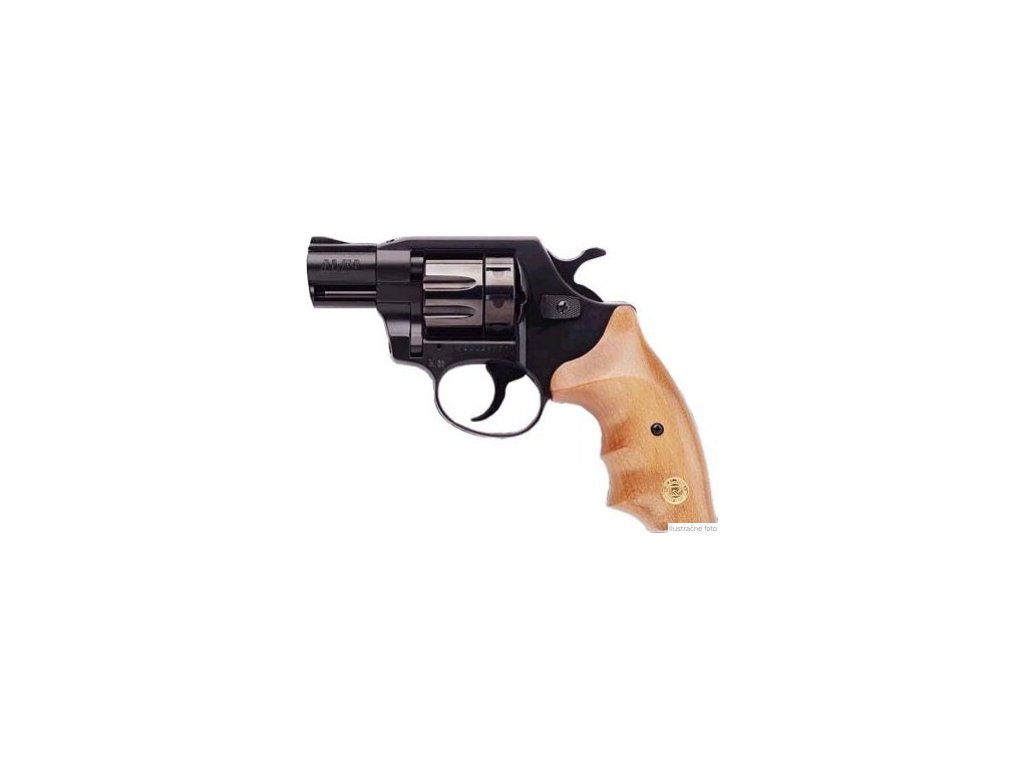 Alfa 620 cal. 6mm ME Flobert Revolver - black/wooden