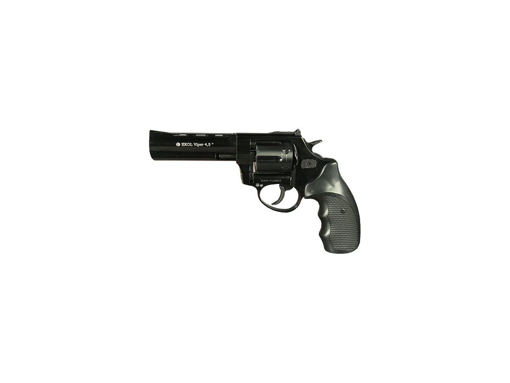 "Gas Revolver Ekol Viper 4,5"" black cal. 9mm"
