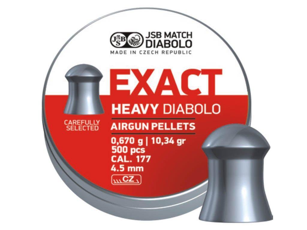 JSB Exact Heavy Diabolo 4,52 mm Pellet