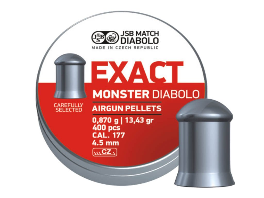 JSB Exact Monster Diabolo 4,52 mm 400 pcs