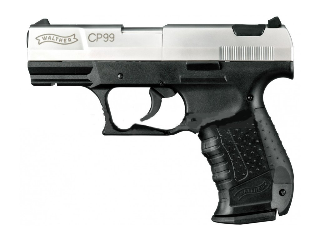 Walther CP99 Air Pistol 4,5 mm nickel
