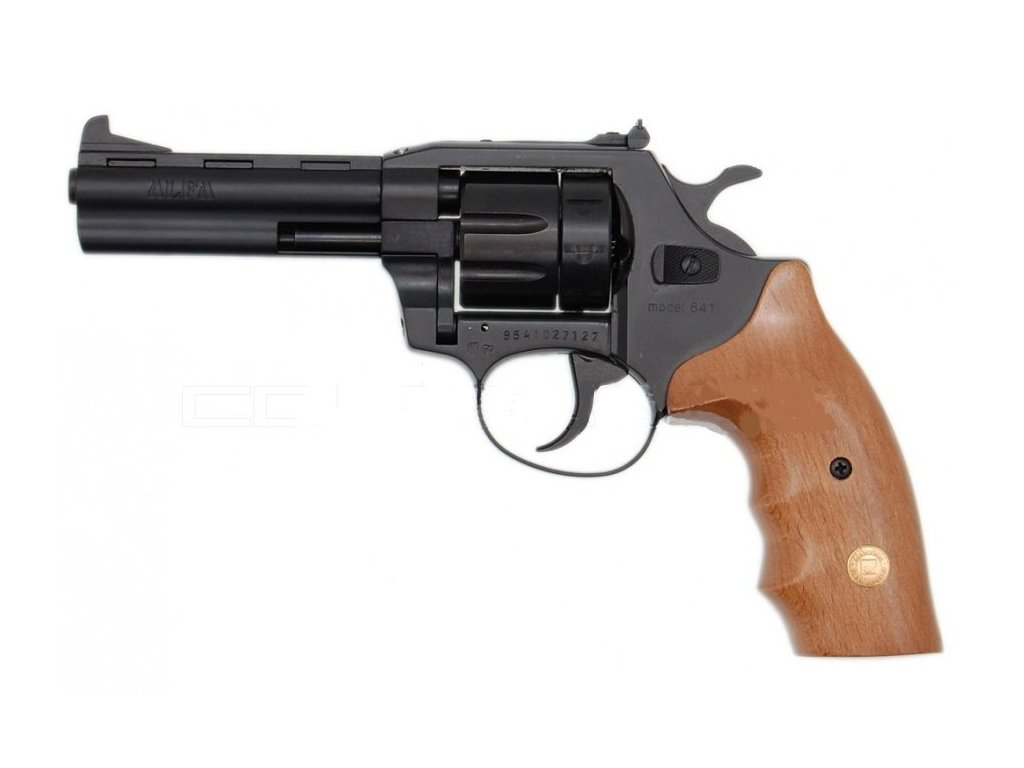 Alfa 641 cal. 6mm ME Flobert Revolver - black/wooden