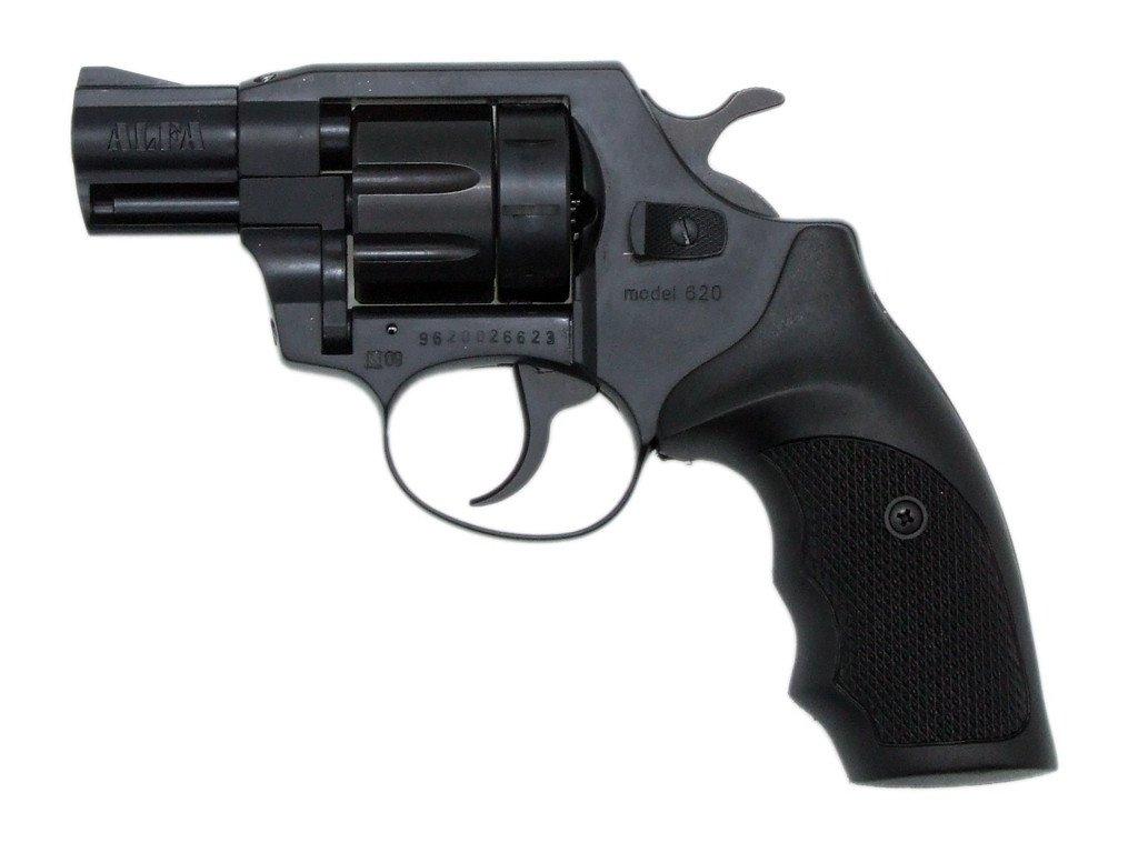 Alfa 620 cal. 6mm ME Flobert Revolver - black/plastic