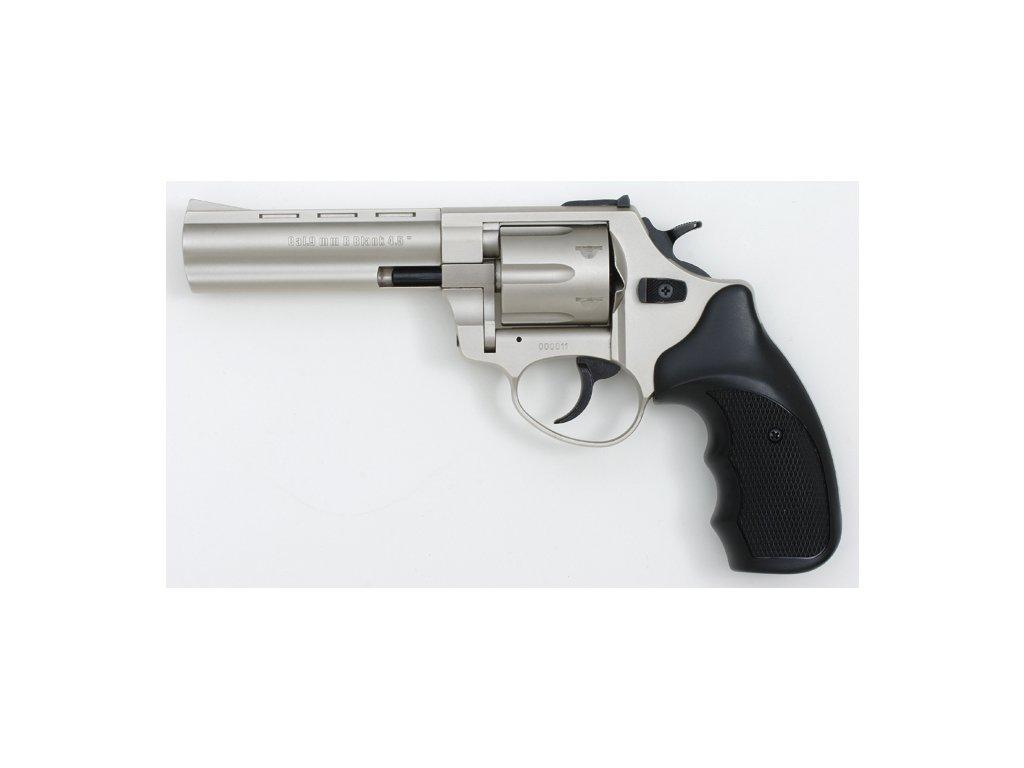 "Zoraki R1 4,5"" cal. 4mm Flobert Revolver - matt chrome"
