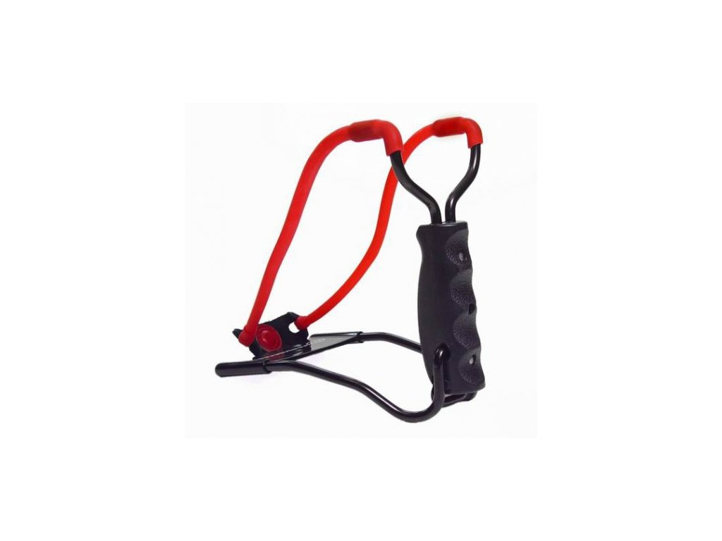 Marksman 3055 Tapered Slingshot with a restraint
