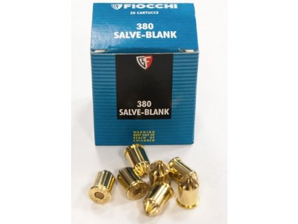 Fiocchi Salve Blank cal. 9mm Cartridges 1pc