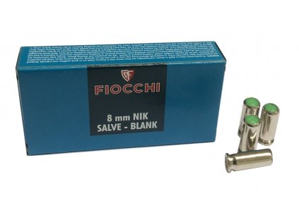 Fiocchi cal. 8mm Salve Blank Cartridges 50 pcs