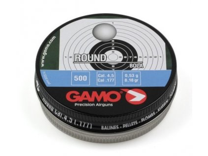Gamo 4,5 mm Round Balls 500 pcs