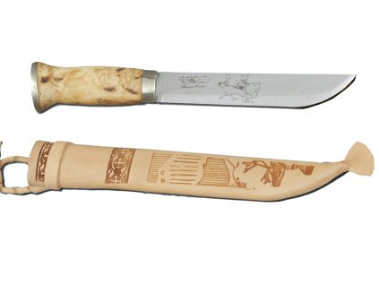 Iisakki Hunter Curly 7389-0 Finnish Knife