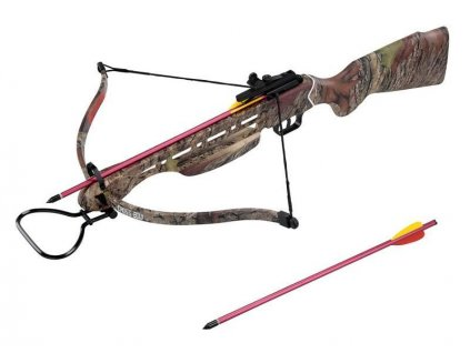 Mankung 150 Lbs Camo Reflective Crossbow