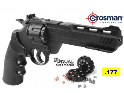 Crosman VIGILANTE CO2 Air Revolver 4,5mm semi-auto