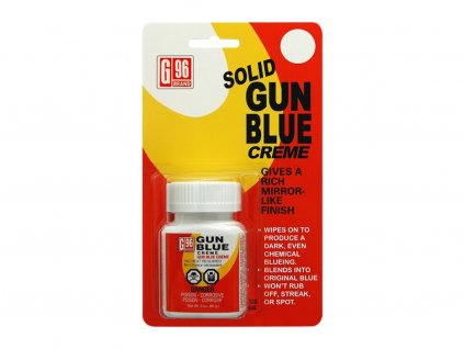 Solid Gun Blue Creme