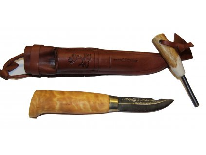 Käsityö Kuronen 17 Finnish Knife with flint