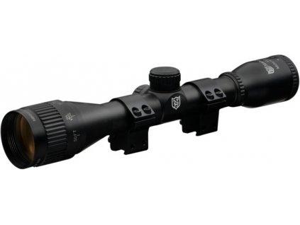 Nikko Stirling Mountmaster Illuminated 4x32 AO Rifle Scope