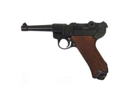 Parabellum PO1898 Luger Pistol wooden grips