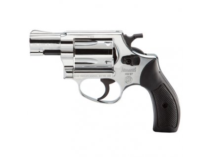 Gas Revolver Weihrauch HW37 nickel cal. 9mm