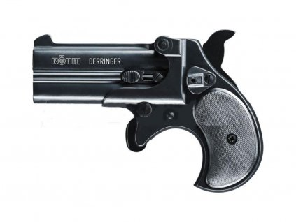 Gas Pistol Röhm Derringer black cal. 9mm