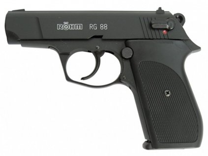 Gas Pistol Röhm RG88 black cal. 9mm