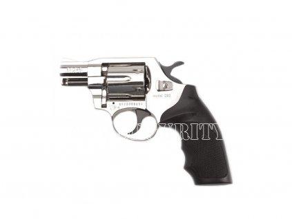 Gas Revolver Alfa 2 nickel plastic