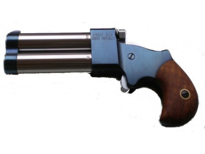 Double-barrel percussion pistol Great Gun Derringer .45 2,5""