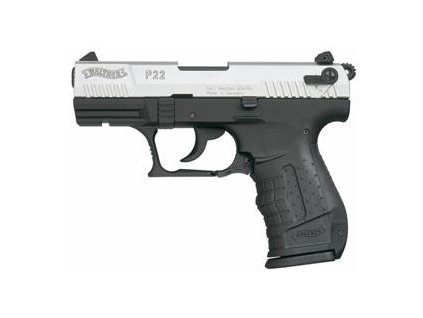 Gas Pistol Walther P22 Nickel cal. 9mm