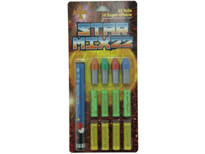 Signal Rocket Star Mix 22 pcs