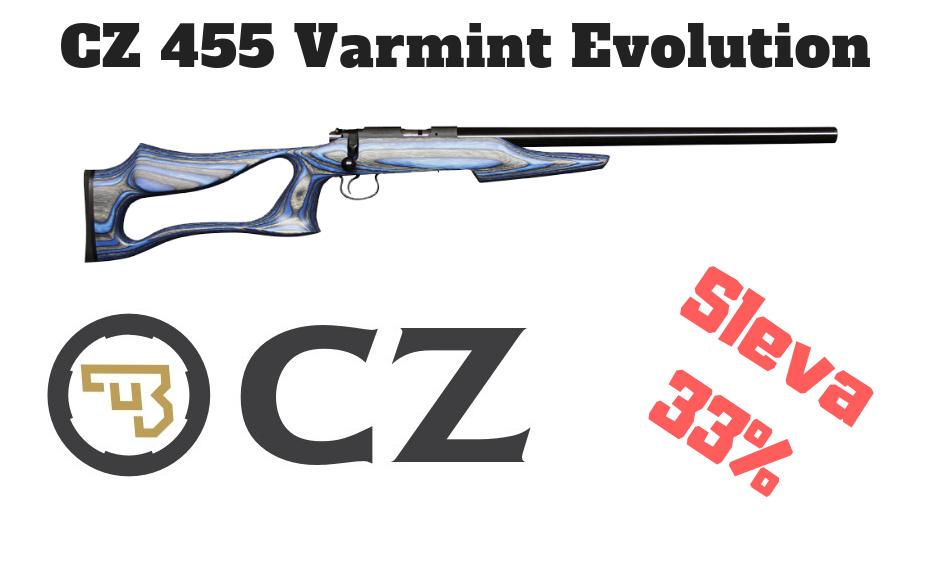 CZ 455 VArmint Evolution
