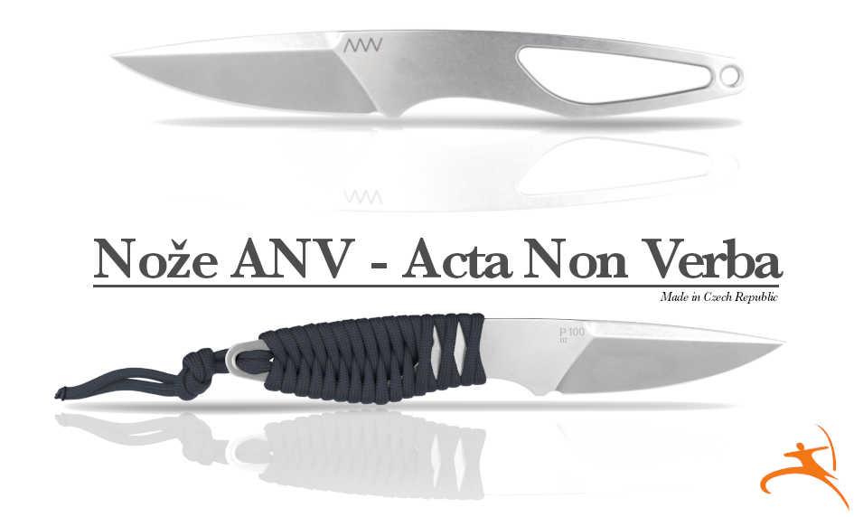 Nože české výroby ANV