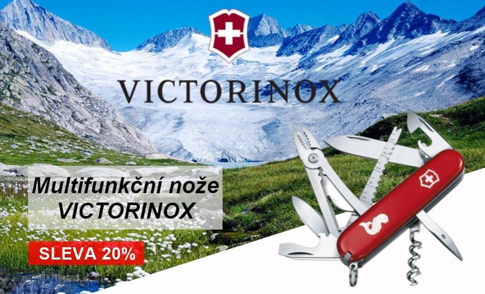 Švýcarské nože Victorinox - sleva 20%