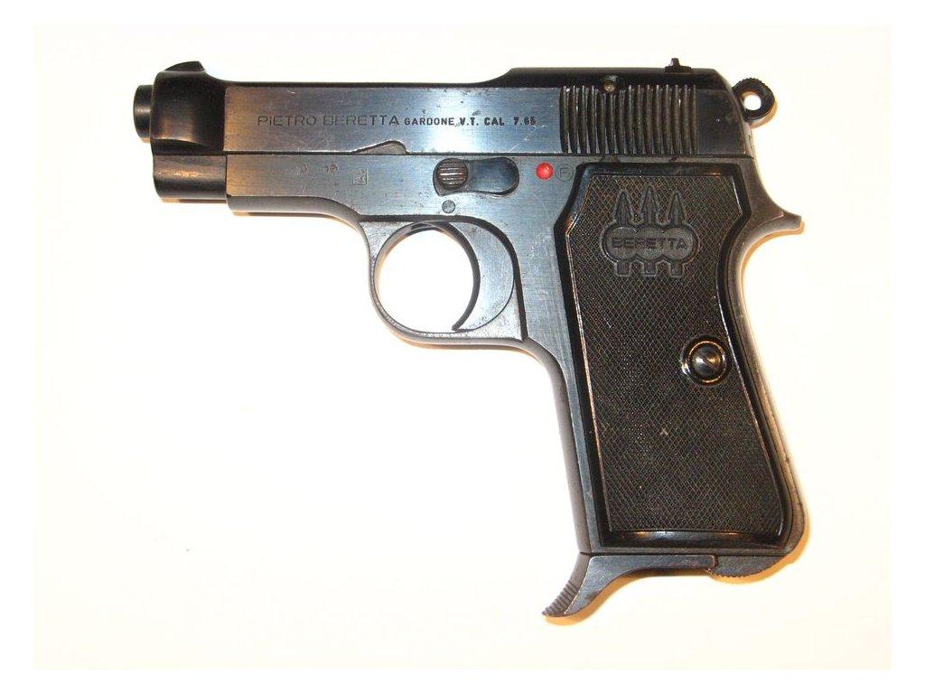 102 1 pistole beretta m935 cal 7 65mm browning