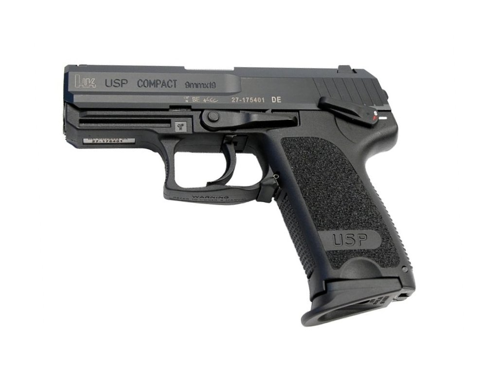 144 heckler koch usp compact cal 9mm luger
