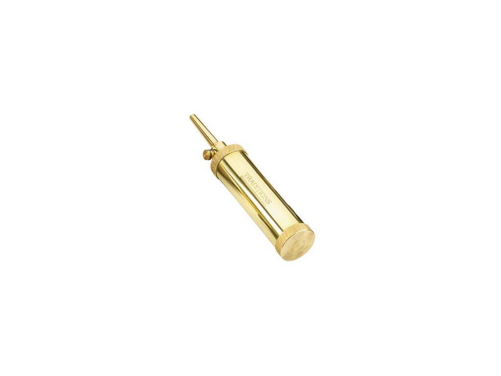 150 prachovnice tubolar pedersoli zlata