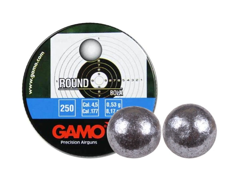 Broky Gamo Round 4.5mm 250ks