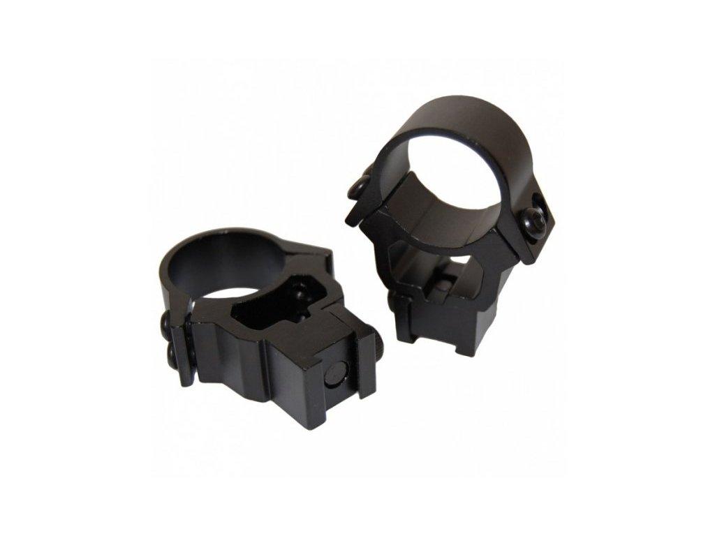 3531 1 dvoudilna montaz 11mm vysoka prstenec 26 mm