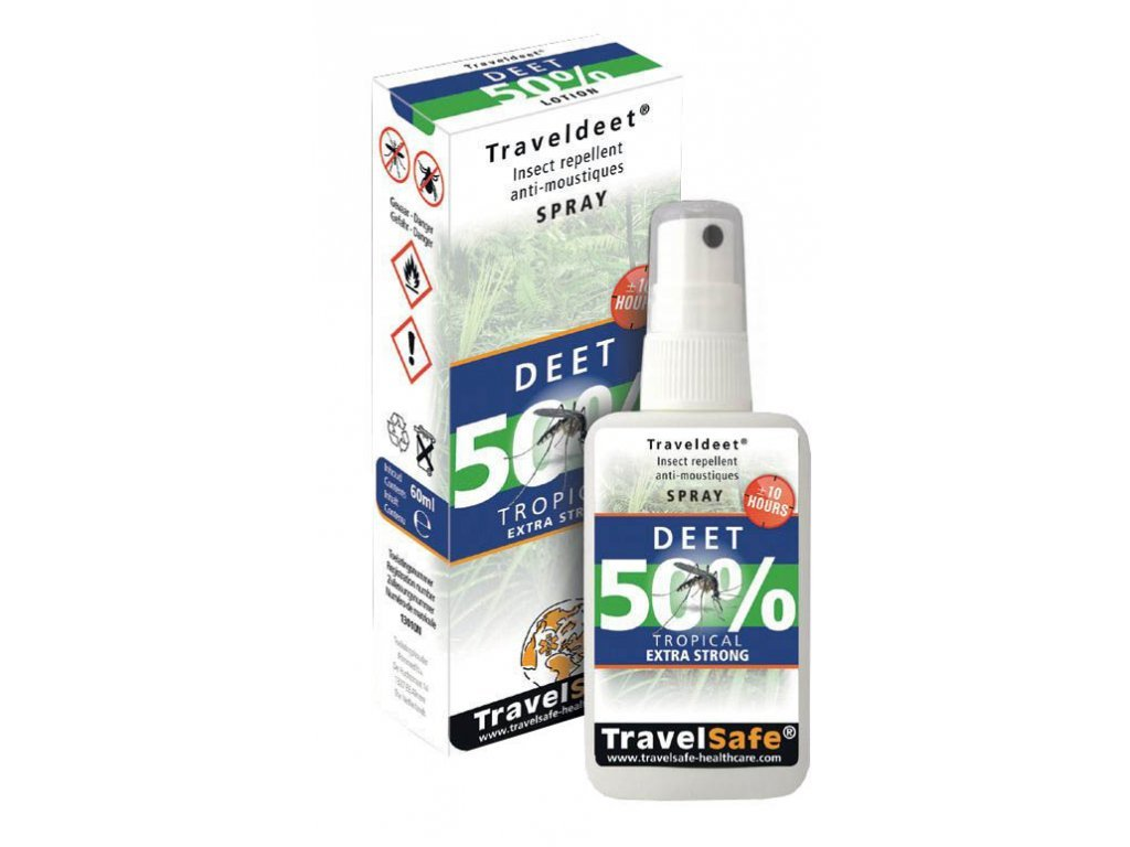 Spray proti hmyzu Traveldeet 40%