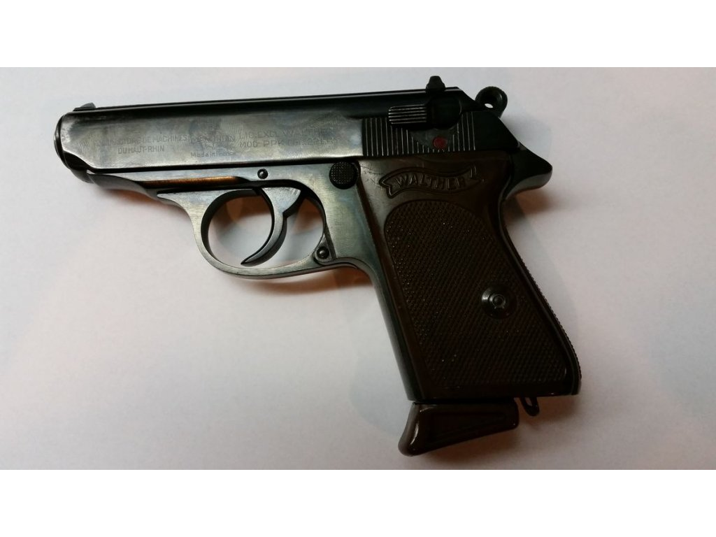 Pistole Walther PPK Manuhrin cal. 22LR