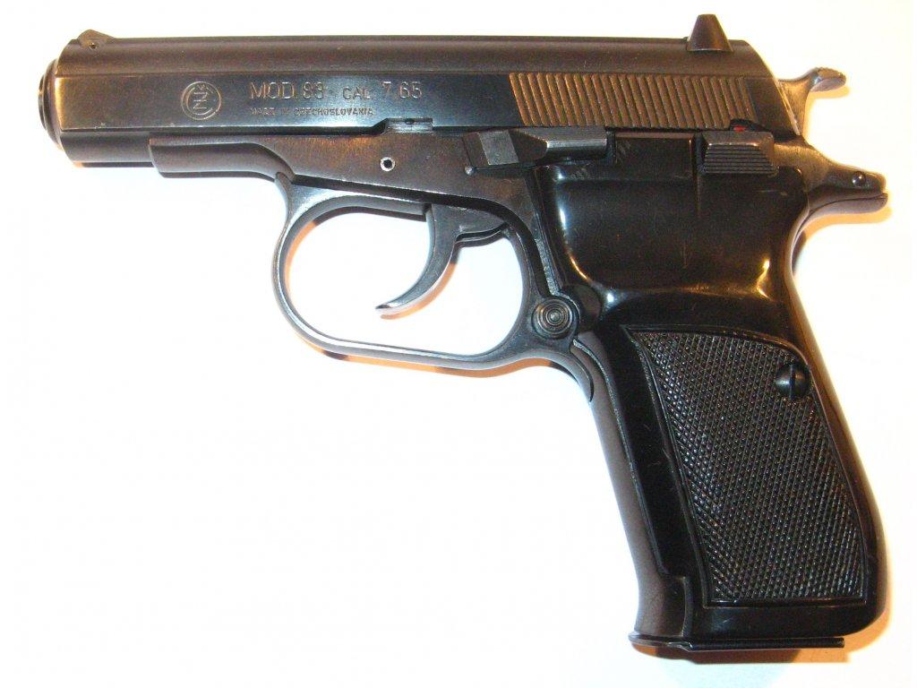 Pistole samonabíjecí CZ 83 r.7,65  Browning