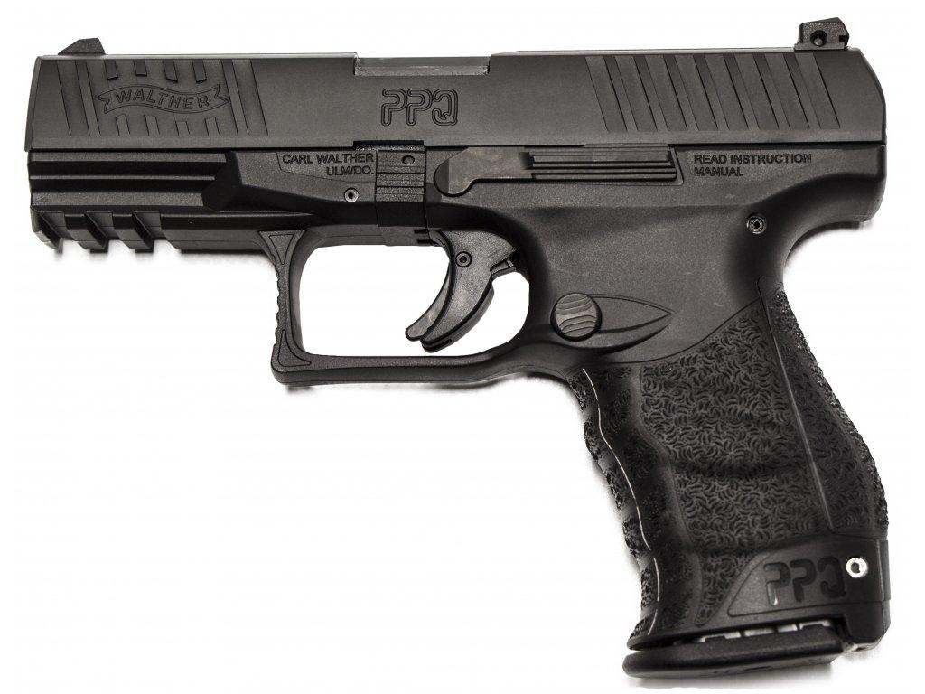 61912 plynova pistole walther ppq m2 cerna cal 9mm