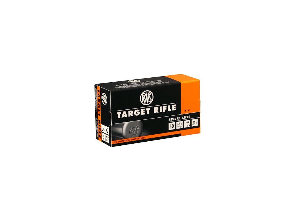 6261 naboj rws target rifle cal 22 lr 50ks