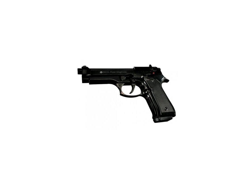 Plynová pistole Ekol Firat 92 Magnum nikl cal. 9mm