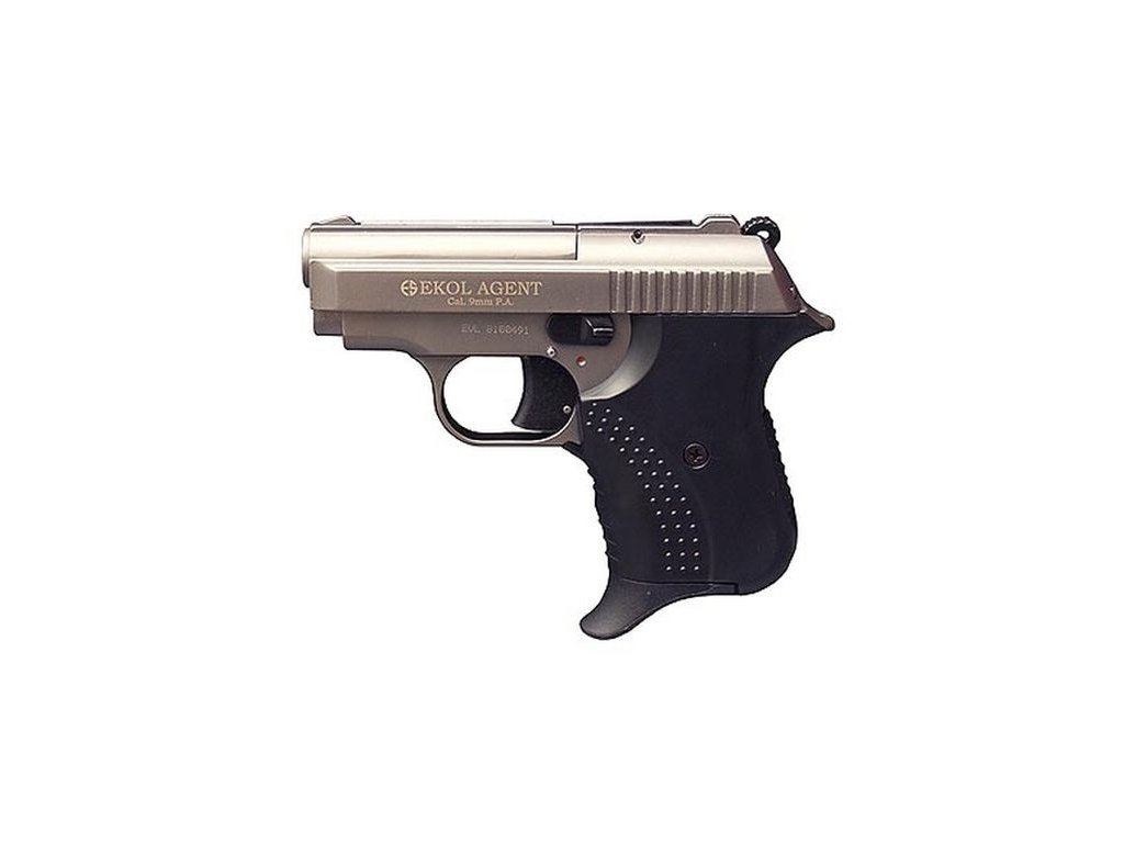 Plynová pistole Ekol Agent Volga titan cal. 9mm