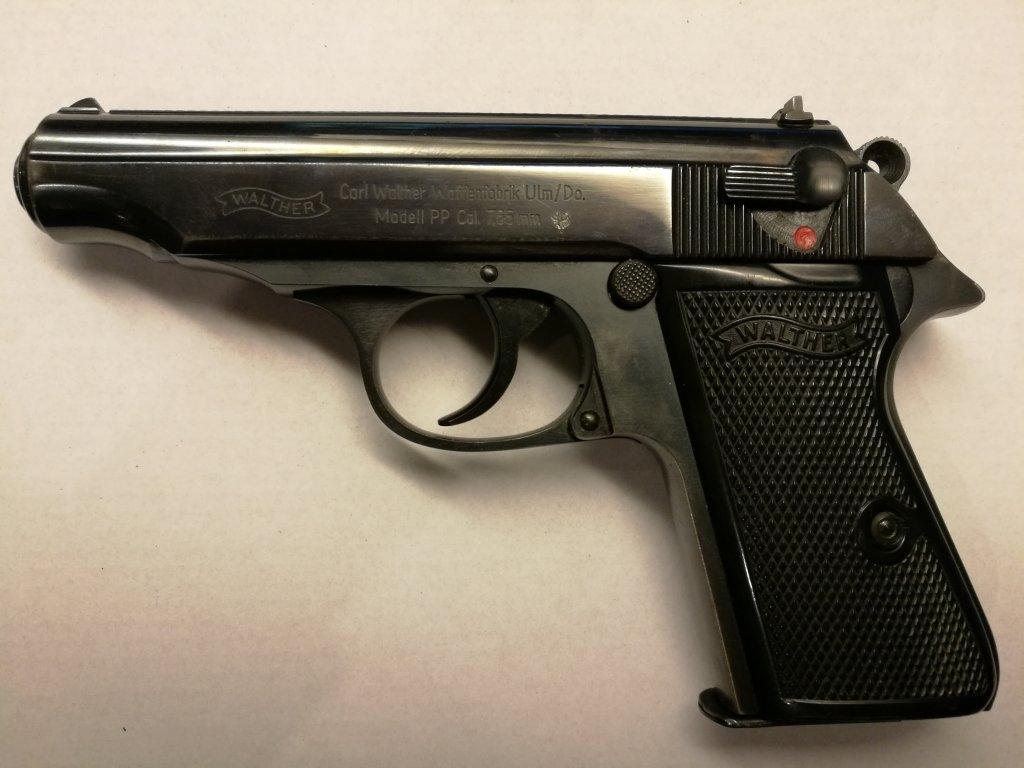 Pistole samonabíjecí Walther PP cal. 7,65 Browning