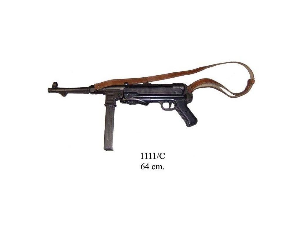 samopal mp 40 raze 9 mm nemecko 1940 2 svetova valka