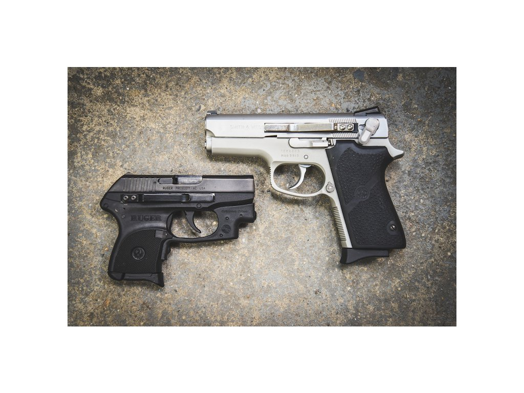 7203 klip na pistole univerzalni clipdraw stribrny