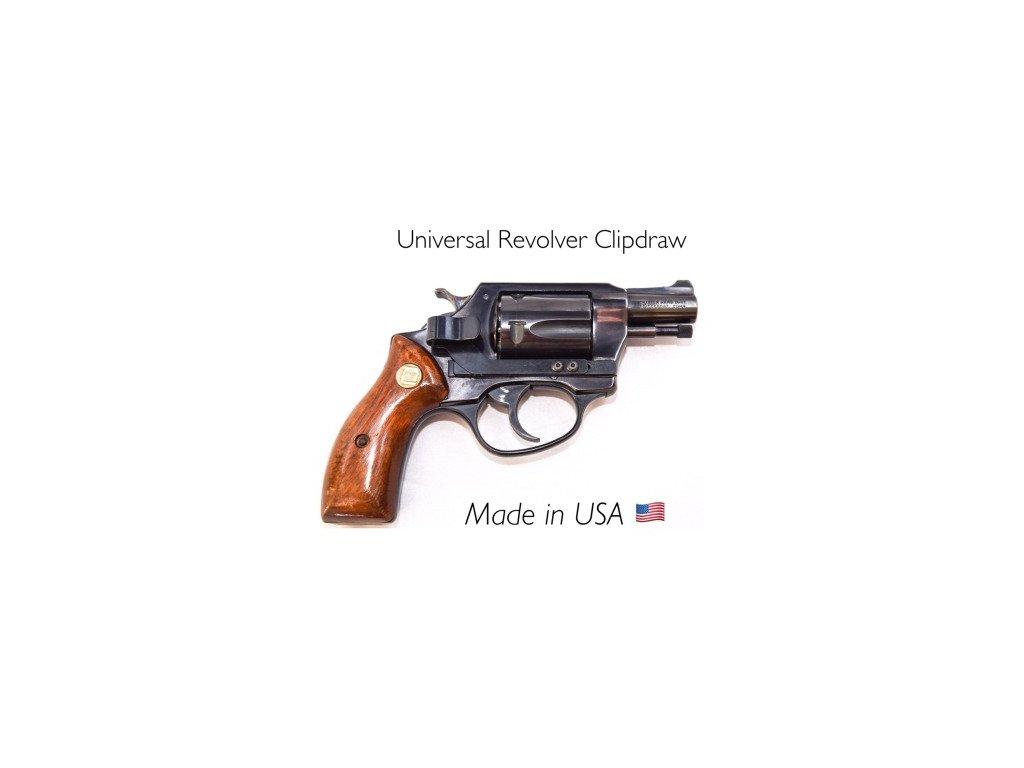 7206 klip na revolvery univerzalni clipdraw cerny