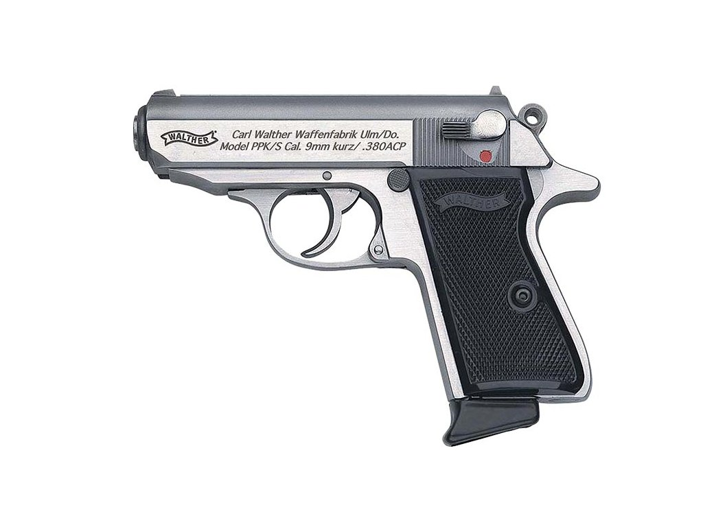 738 walther ppk s stainless cal 9mm browning