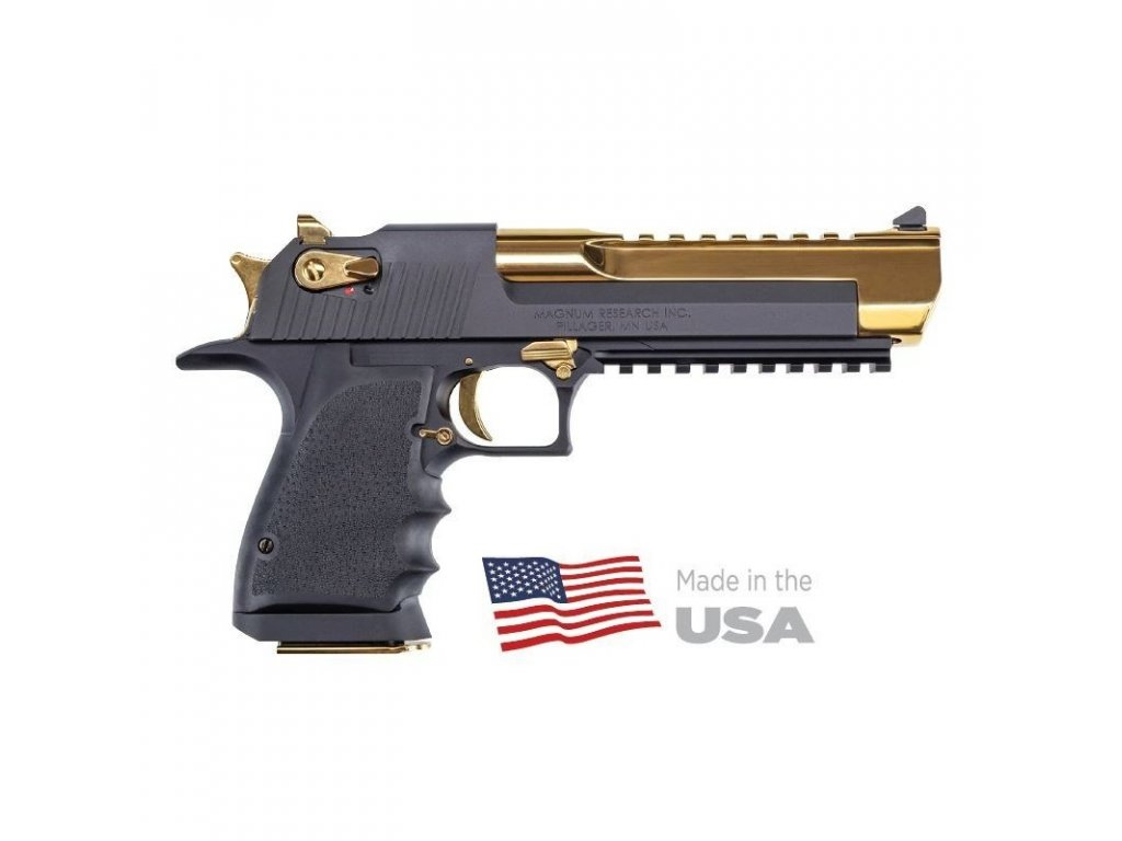 desert eagle l6 black t gold cal 44