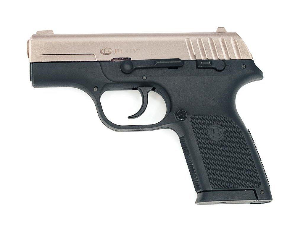 plynova pistole blow tr914 02 saten 9mm