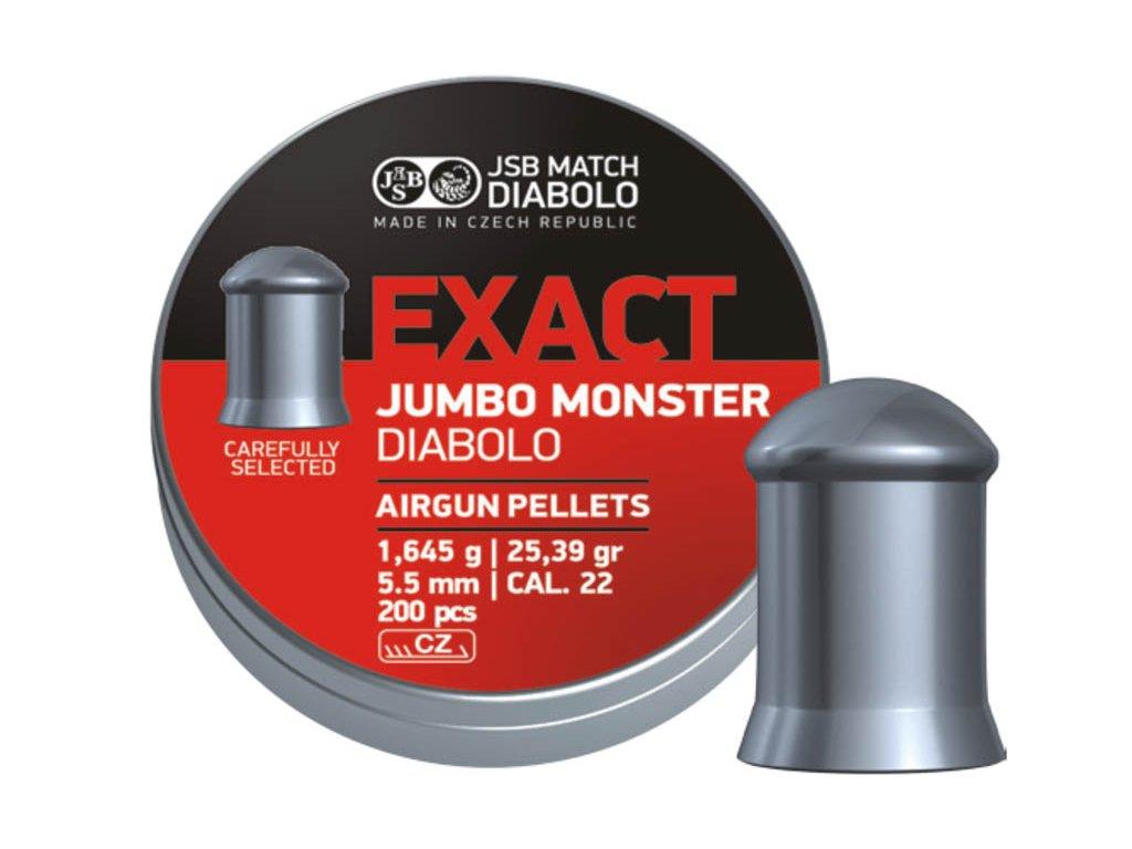 7764 diabolky jsb exact jumbo monster cal 5 52mm 200ks